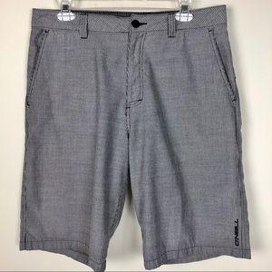 O'Neill Men's Striped Chino Shorts
